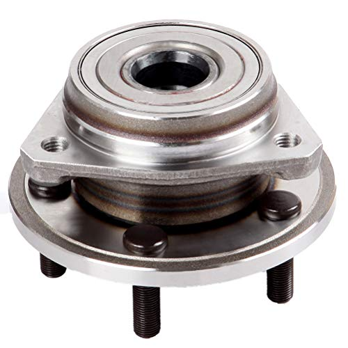TUPARTS 513158 Wheel Bearing and Hubs Front Compatible With for d Explorer for d Mustang for Ranger for Jeep Wrangler 1982-2014 for Lincoln Town Car for Mazda B4000 for Jeep Liberty Compass Patr
