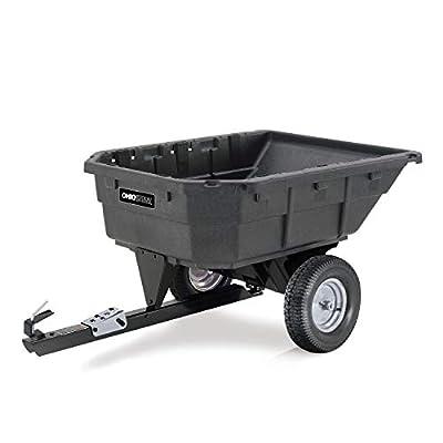 Ohio Steel Swiveling Poly Dump Cart - 1,000-Lb. Capacity, Model# 1000P-SD