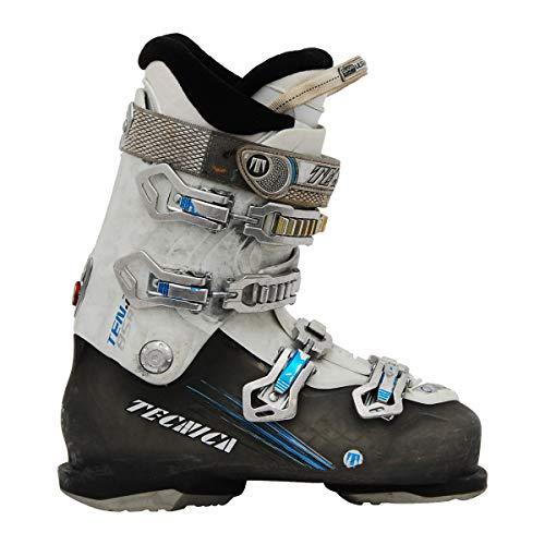 Moon Boot Gebrauchte Skischuhe Tecnica Ten 2 85 rt weiß/grau/blau