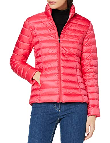 JOTT Down Jacket cha with Long Sleeve, Fucsia, S para Mujer