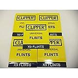 Clipper 45 Selci Più Leggeri, Funziona Con Tutti Gli Accendini In Pietra, Compresi Gli Accendini Zippo