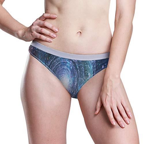Beautiful Nebula Stars and Galaxies Womens Menstrual Sanitary Protective Panties Underwear