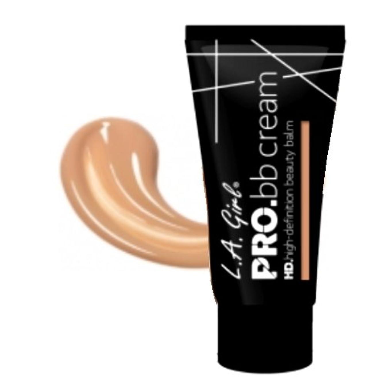 手つかずの電極品(3 Pack) LA GIRL HD Pro BB Cream - Medium Deep (並行輸入品)