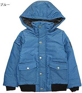 ナチュラルスタイル ジュニア アウター 防寒 コート 中綿 フード リブ