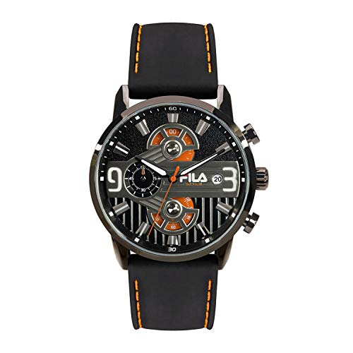 Fila Gamma Style - Reloj de pulsera para hombre con cronógrafo
