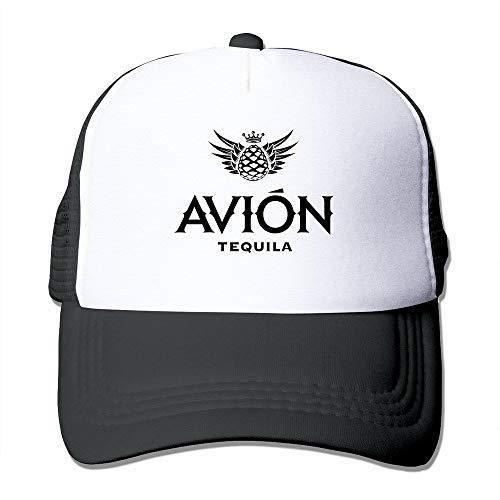 LIU888888 Unisex Avion Tequila Adjustable Mesh Baseball Hats Caps Black,Hüte, Mützen & Caps