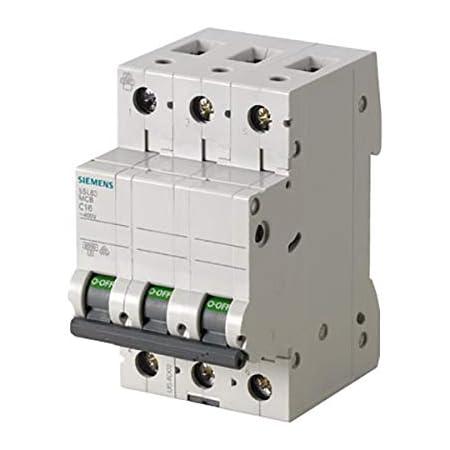 3 Stück Siemens Leistungsschutzschalter Sicherungsautomat 5SY41MCB C16  NEU !!