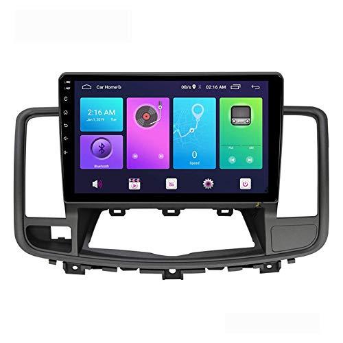 Android 10.0 Car Stereo Unidad principal de doble Din Compatible con NISSAN ALTIMA TEANA 2008-2012 Navegación GPS Pantalla táctil de 10 pulgadas Reproductor multimedia MP5 Receptor de video y radio c