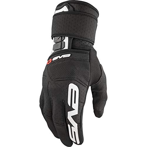 EVS Sports Wrister Glove with Wrist Protection, Adult, L, Black, Größe large
