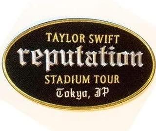 [テイラー スウィフト] Taylor Swift Reputation Tour City Patch TOKYO レピュテーション ツアー オフィシャル シティパッチ 東京