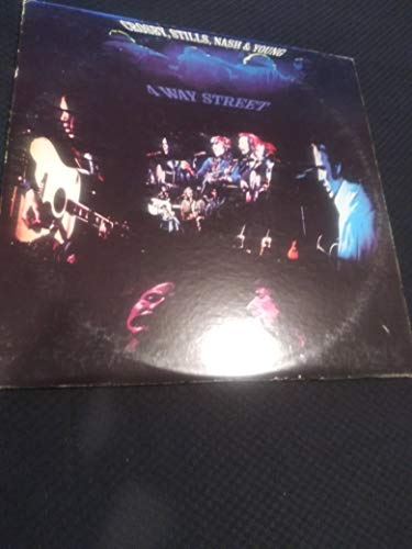 CROSBY STILLS NASH & YOUNG 4 WAY STREET vinyl record