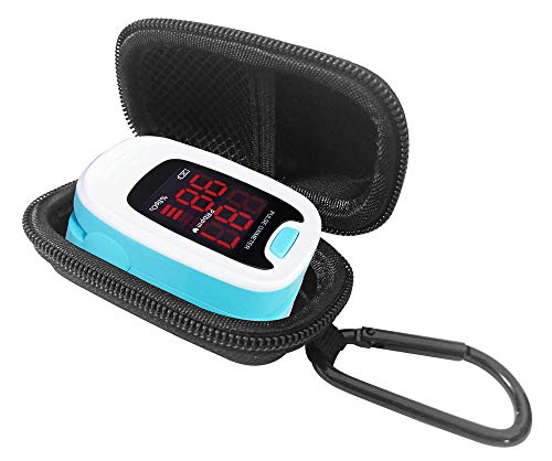 DailyU Travel Case for CONTEC LED CMS50M Pulse Oximeter(CASE ONLY)