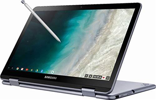 "2019 Samsung Plus 2-in-1 12.2"" (1920 x 1200) FHD WUXGA Touchscreen Chromebook Lightweight   Intel Celeron Dual-Core   4GB RAM   32GB eMMC   128GB MicroSD   Pen Included   Chrome OS"