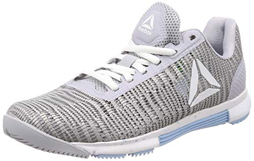 Reebok Damen Speed Tr Flexweave Fitnessschuhe, Mehrfarbig (Cold Grey/White/Denim Glow 000), 37 EU
