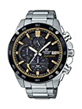 Casio Men's Edifice Quartz Watch with Stainless Steel Strap, Silver, 21.6 (Model: EFS-S500DB-1BVCR)