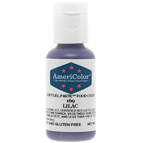 AmeriColor Soft Gel Paste Food Color .75-Ounce, Lilac