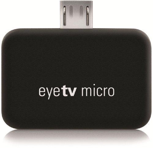 Elgato EyeTV Micro DVB-T,ISDB-T USB - TV-Tuner-Karten (DVB-T,ISDB-T, H.264,MPEG2,MPEG4, USB, UHF,VHF, 4 g, 30 x 20 x 8,6 mm)