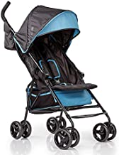 Summer 3Dmini Convenience  Stroller, Black – Lightweight Infant Stroller with Compact Fold, Multi-Position Recline, Canopy with Pop Out Sun Visor and More – Umbrella Stroller for Travel and More