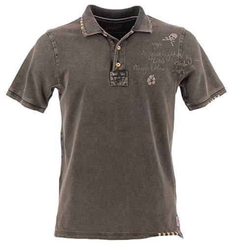 Bob Polo-Shirt anthrazit Vintage XXL