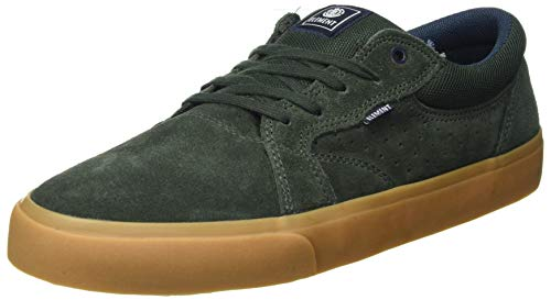 Element Herren Wasso Sneaker,FOREST NGHT GUM , 42.5 EU