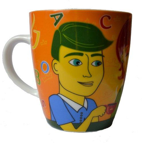 Jacobs Krönung - 11. Edition - Jede Tasse bringt uns näher - Tasse - Neu