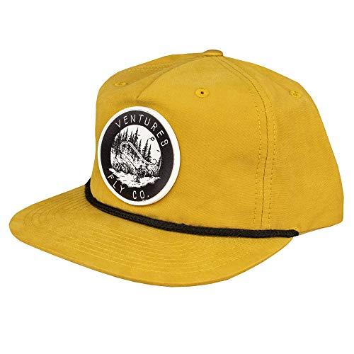 Adjustable Snapback Hat | Fly Fishing Accessories & Gear | Mesh Trucker & Flatbrim | Fish, Leather, Cap, Men, Women
