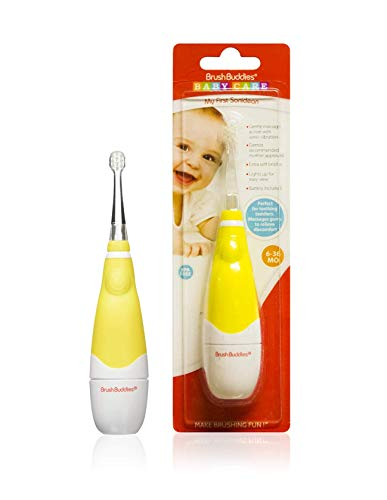 Brush Buddies My First Soniclean Baby Teething Toothbrush