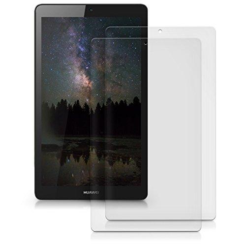 kwmobile 2x Huawei MediaPad T3 7.0 Folie - Full Screen Tablet Schutzfolie für Huawei MediaPad T3 7.0 entspiegelt - 4