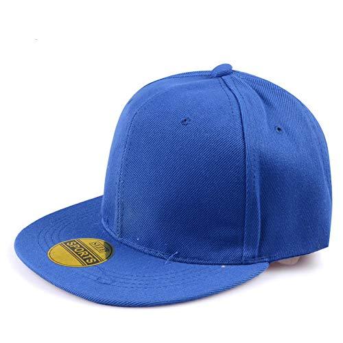 Gorra De Beisbol Cap Gorra De Béisbol Europea Y Americana, Hombres, Mujeres, Sombreros Deportivos, Gorra De Verano, Gorra Informal Bordada, Disfraz XXL Azul