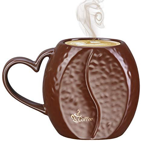 YUESHICO Ceramic Coffee Mugs Funny - Cute Small 10 Oz Coffee...