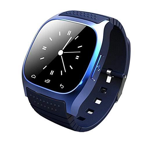 deYukiko M26 Leben wasserdicht Smartwatch Smart Watch Music Player Schrittzähler blau
