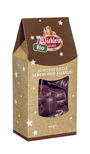 Wicklein Bio Lebkuchen Allerlei aus Nürnberg 150g