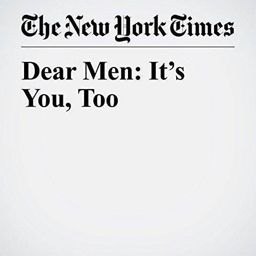 Dear Men: It's You, Too copertina