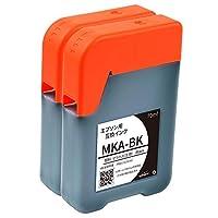 【NoSinker製】 MKA-PGBK(顔料ブラック) 2本セット【マラカス】 エプソン用互換インクボトル 安心365日保証付き 【四角】