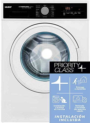 lavadoras baratas 9kg 1400 Marca SAUBER
