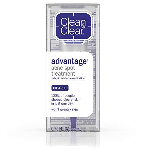 Clean & Clear Advanced Acne Spot Treatment, 0.75 oz