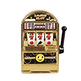 divertente toy metal mini lucky slot machine strumento di intrattenimento per divertimento in oro