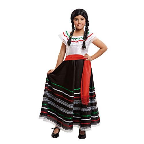 My Other Me Me-203322 Disfraz de mejicana para niña, 10-12 años (Viving Costumes 203322)