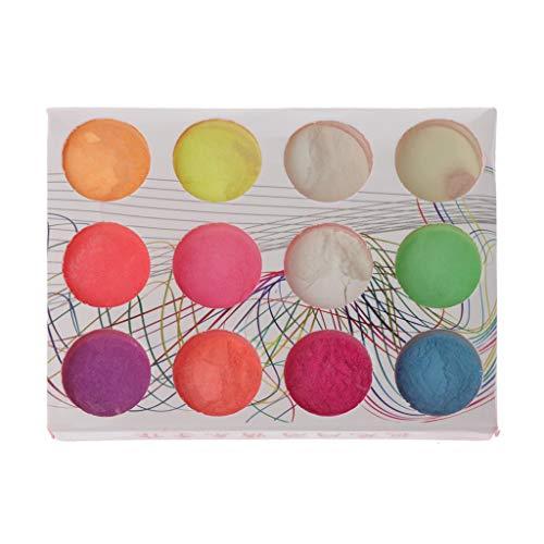 Bester der welt Die ultrahelle fluoreszierende Farbe von SimpleLife12 ist ein DIY-Schmuck, der mit dunklen Pigmenten leuchtet