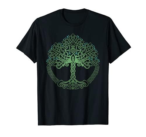VIKING CELTIC KNOTWORK TREE OF LIFE T-SHIRT