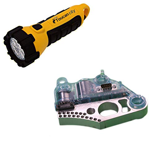 Toucan City LED Flashlight and SawStop Standard Brake Cartridge TSBC-10R2
