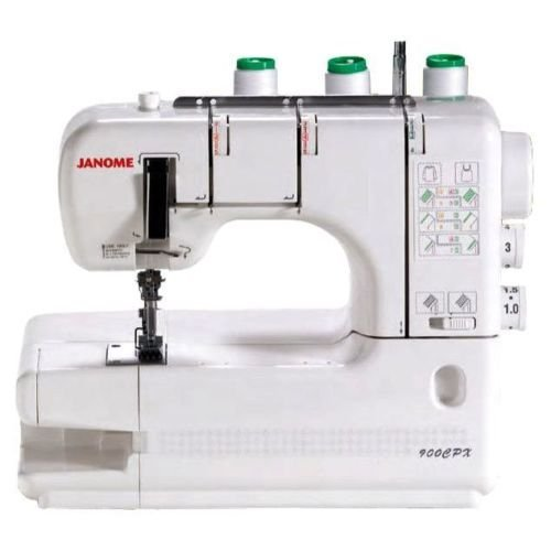 Janome CoverPro 900CPX Portable CoverHem Serger Machine With Bonus
