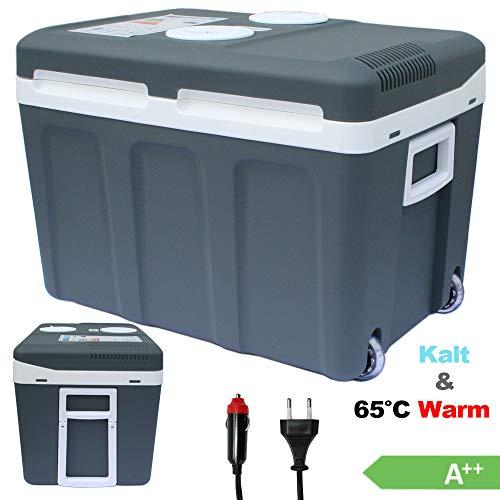 Vaiko® 40L Kühlbox 12V 230V Camping Kühlschrank Thermoelektrische Warmhaltebox