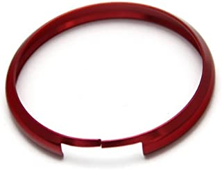 iJDMTOY Red Finish Smart Key Fob Replacement Ring For 08-up Mini Cooper JCW R55 R56 R57 R58 R59 R60
