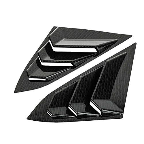 LKJsagd Auto Dreieckige Fensterabdeckung, passend für Honda Civic 16-18
