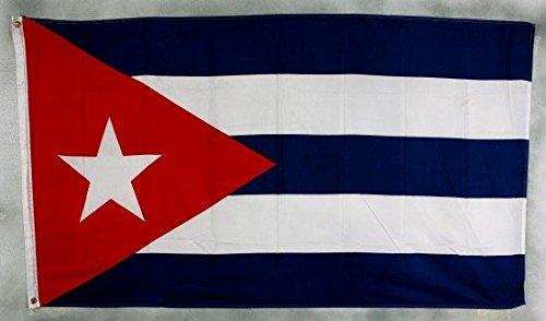 Cuba Drapeau Grand format aux intempéries 250 x 150 cm Drapeau