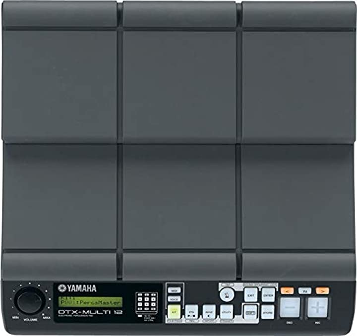 Professional all-in-one multipad 12 dynamic pads (stick hand & finger mode) 5 external inputs yamaha ?DTXM12
