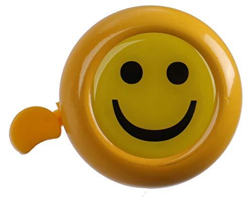 M-Wave fahrradklingel Smiley 53 mm Stahl gelb