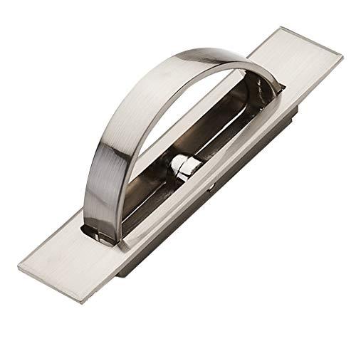Cancelli scorrevoli Bracciale con Cassetto Invisibile Rotante Tatami Bracciale con Maniglia per Porta Incorporata Addensata con Coperchio Maniglia per Porta Invisibile Nascosta