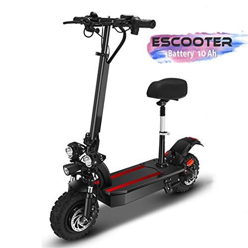 Elektro Scooter E-Roller 1600 Watt E-Motor, Faltbar City e-Scooter 60 km/h,40km Reichweite mit LCD Bildschirm Elektroscooter für Jugendliche Erwachsene